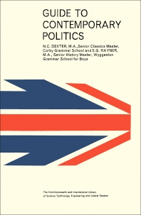 Guide to Contemporary Politics - 1st Edition - ISBN: 9780080115979, 9781483141947