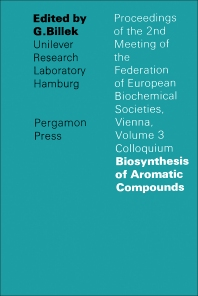 Biosynthesis of Aromatic Compounds - 1st Edition - ISBN: 9780080117201, 9781483164373