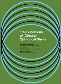 Free Vibrations of Circular Cylindrical Shells - 1st Edition - ISBN: 9780080117324, 9781483158617