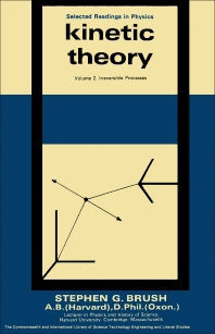 Kinetic Theory - 1st Edition - ISBN: 9780080118703, 9781483155937