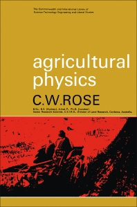 Agricultural Physics - 1st Edition - ISBN: 9780080118840, 9781483139258