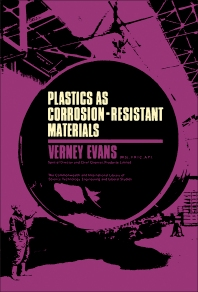 Cover image for Plastics as Corrosion-Resistant Materials