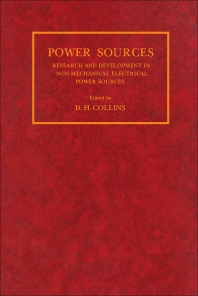 Power Sources - 1st Edition - ISBN: 9780080121765, 9781483149769