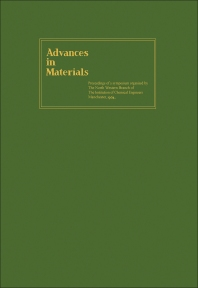 Advances in Materials - 1st Edition - ISBN: 9780080122045, 9781483153490