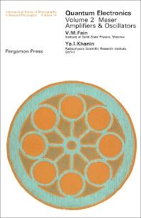 Quantum Electronics - 1st Edition - ISBN: 9780080122380, 9781483158501