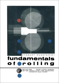 Fundamentals of Rolling - 1st Edition - ISBN: 9780080122762, 9781483159065