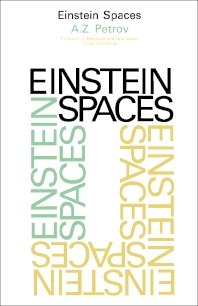 Einstein Spaces - 1st Edition - ISBN: 9780080123158, 9781483151847