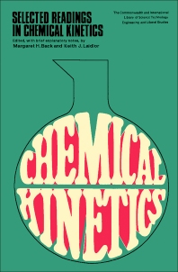 Selected Readings in Chemical Kinetics - 1st Edition - ISBN: 9780080123448, 9781483214634