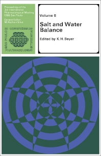 Salt and Water Balance - 1st Edition - ISBN: 9780080123738, 9781483150475