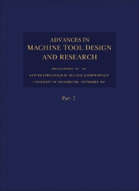 Advances in Machine Tool Design and Research 1967 - 1st Edition - ISBN: 9780080126296, 9781483154459