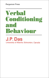 Verbal Conditioning and Behaviour - 1st Edition - ISBN: 9780080128184, 9781483156538