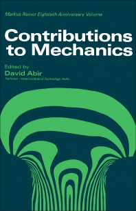 Contributions to Mechanics - 1st Edition - ISBN: 9780080128221, 9781483152462