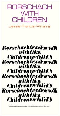 Cover image for Rorschach with Children