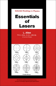Essentials of Lasers - 1st Edition - ISBN: 9780080133201, 9781483158945