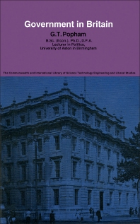 Government in Britain - 1st Edition - ISBN: 9780080134185, 9781483146515