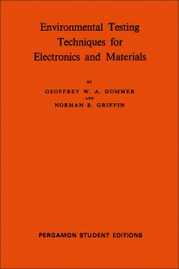 Environmental Testing Techniques for Electronics and Materials - 1st Edition - ISBN: 9780080135144, 9781483135915