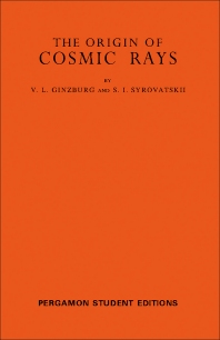 Cover image for The Origin of Cosmic Rays