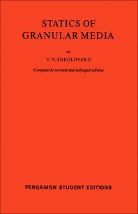 Cover image for Statics of Granular Media