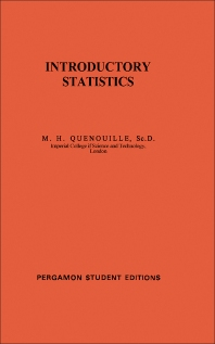 Introductory Statistics - 1st Edition - ISBN: 9780080137834, 9781483140384