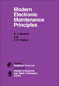 Modern Electronic Maintenance Principles - 1st Edition - ISBN: 9780080141886, 9781483137797
