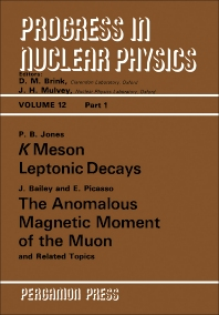K Meson Leptonic Decays - 1st Edition - ISBN: 9780080157665, 9781483139821