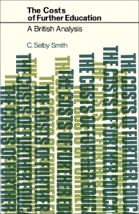 The Costs of Further Education - 1st Edition - ISBN: 9780080161631, 9781483160337