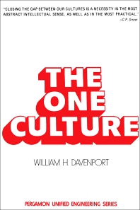 The One Culture - 1st Edition - ISBN: 9780080163222, 9781483279343
