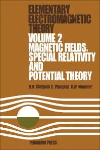 Magnetic Fields, Special Relativity and Potential Theory - 1st Edition - ISBN: 9780080166001, 9781483139319