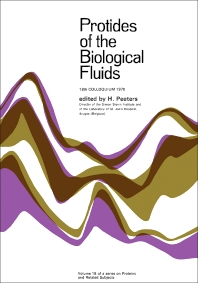 Protides of the Biological Fluids - 1st Edition - ISBN: 9780080166223, 9781483146324