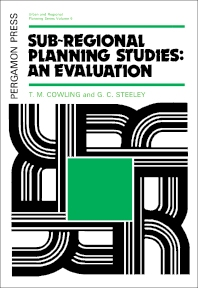 Sub-Regional Planning Studies: An Evaluation - 1st Edition - ISBN: 9780080170190, 9781483153711