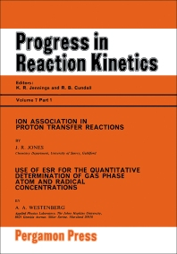 Ion Association in Proton Transfer Reactions - 1st Edition - ISBN: 9780080170374, 9781483139234