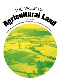 The Value of Agricultural Land - 1st Edition - ISBN: 9780080170701, 9781483158921