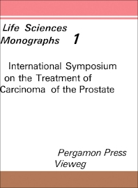 Cover image for International Symposium on the Treatment of Carcinoma of the Prostate, Berlin, November 13 to 15, 1969
