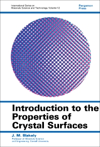 Introduction to the Properties of Crystal Surfaces - 1st Edition - ISBN: 9780080176413, 9781483156804