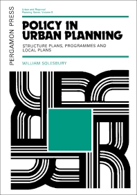Policy in Urban Planning - 1st Edition - ISBN: 9780080177588, 9781483187181