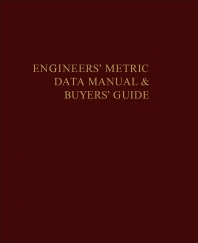 The Engineers' Metric Data Manual and Buyers' Guide - 1st Edition - ISBN: 9780080182209, 9781483165653
