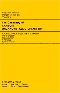The Chemistry of Carbon - 1st Edition - ISBN: 9780080187860, 9781483151946