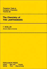 The Chemistry of the Lanthanides - 1st Edition - ISBN: 9780080188782, 9781483187631