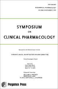Symposium on Clinical Pharmacology - 1st Edition - ISBN: 9780080189499, 9781483139401