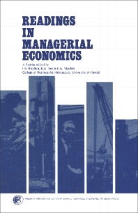 Readings in Managerial Economics - 1st Edition - ISBN: 9780080196053, 9781483163802