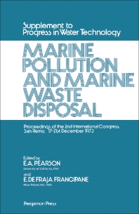 Marine Pollution and Marine Waste Disposal - 1st Edition - ISBN: 9780080197302, 9781483181776