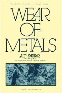 Wear of Metals - 1st Edition - ISBN: 9780080197371, 9781483140100