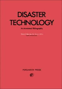 Disaster Technology - 1st Edition - ISBN: 9780080199849, 9781483150383