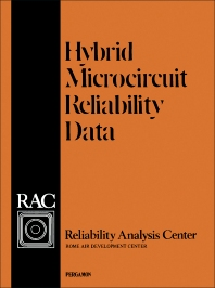 Hybrid Microcircuit Reliability Data - 1st Edition - ISBN: 9780080205359, 9781483138275