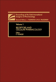 Cover image for Receptors and Cellular Pharmacology