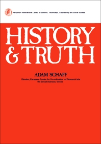 History and Truth - 1st Edition - ISBN: 9780080205793, 9781483279749