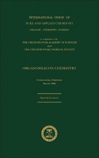 Organosilicon Chemistry - 1st Edition - ISBN: 9780080208077, 9781483284460