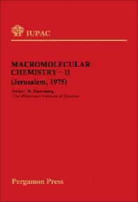 Macromolecular Chemistry-11 - 1st Edition - ISBN: 9780080209753, 9781483152141