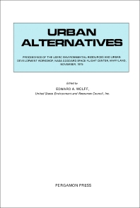 Urban Alternatives - 1st Edition - ISBN: 9780080211718, 9781483136882