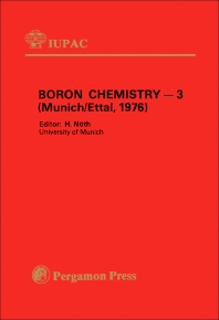 Cover image for Boron Chemistry — 3